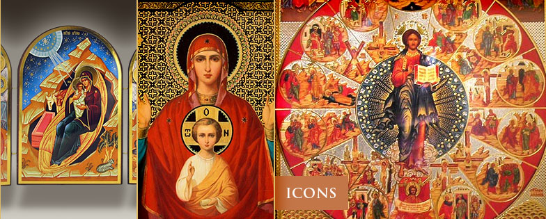 Christian art in eastern icons